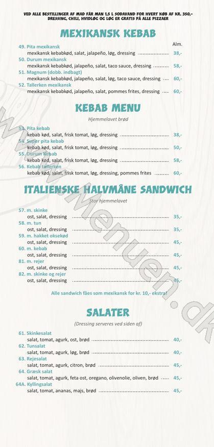 menukortet